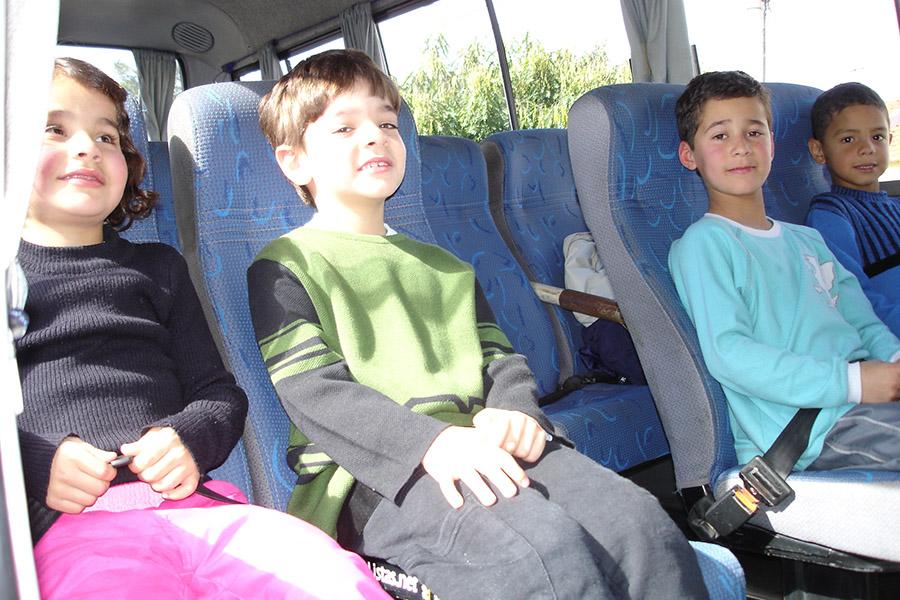 Entretenimento a bordo para crianças